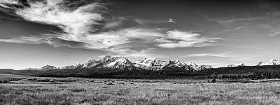 Photograph - Sawtooth Mountain Range Panoramic View In Stanley Idaho by Vishwanath Bhat
