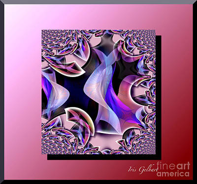 Digital Art - Scarves 2 by Iris Gelbart