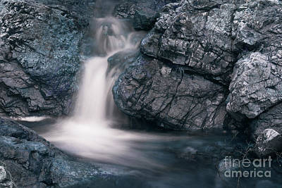 Photograph - Scottish Waterfalls by Angel Tarantella