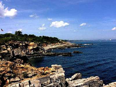 Photograph - Sea Coast Maine... by Bob Johnson
