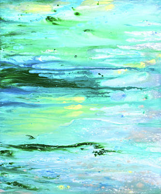 Painting - Sea Meets Land by Gina De Gorna