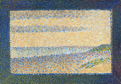 Georges Seurat Painting - Seascape. Gravelines by Georges Seurat