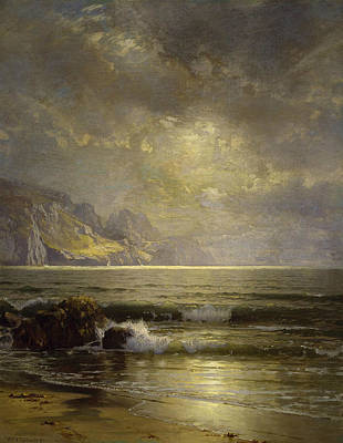 Richard Painting - Seascape by William Trost Richards