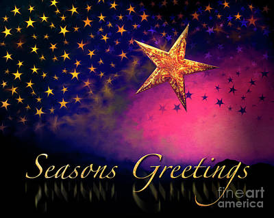 Digital Art - Seasons Greetings by Edmund Nagele