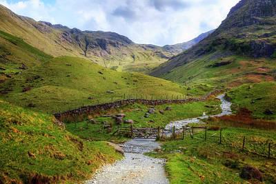 Berge Photograph - Seathwaith - Lake District by Joana Kruse