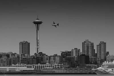 Curated Weekender Tote Bags - Seattle Seafair by David Gleeson