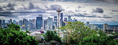 Photograph - Seattle Washington City Skyline From Kerry Park by Alex Grichenko