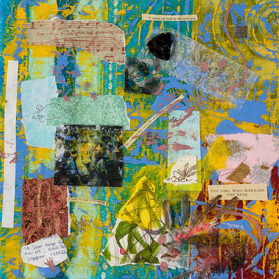 Mixed Media - Secret Language by Dawn Boswell Burke