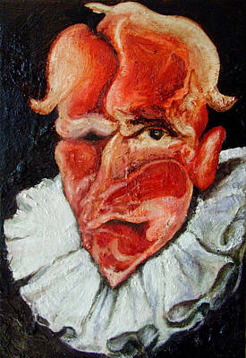 Character Portraits Painting - Self Portrait by Leo  Alas