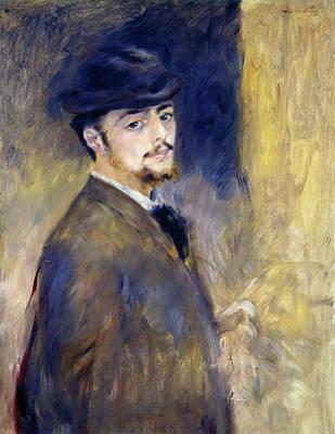 Self Shot Painting - Self-portrait by Pierre-Auguste Renoir