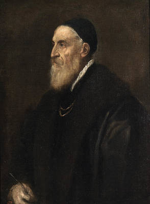 Painting - Self Portrait by Titian