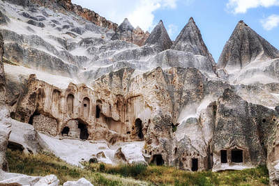 Cappadocia Photograph - Selime - Turkey by Joana Kruse