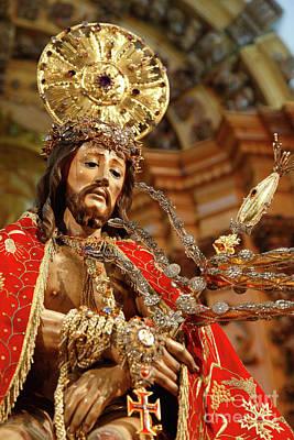 Senhor Bom Jesus Da Pedra Art Print by Gaspar Avila