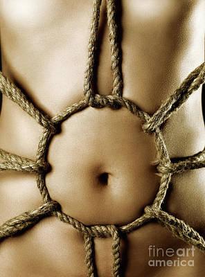 Art Nude Erotic Bondage Photograph - Sensual Bondage by Oleksiy Maksymenko
