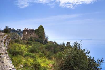 The Pathway Photograph - Sentiero Degli Dei - Amalfi Coast by Joana Kruse