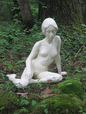 Sculpture - Serenity by Deborah Dendler