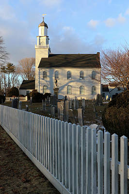 Photograph - Setauket Presbyterian Church Setauket New York by Bob Savage