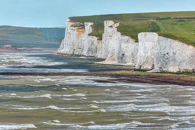 Coastguard Cottages Photograph - Seven Sisters - England by Joana Kruse