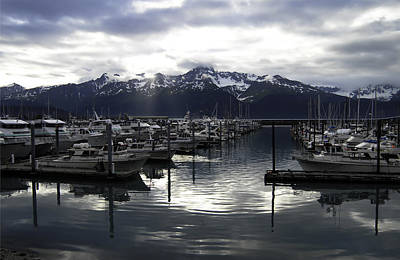 Seward Harbor Art Print