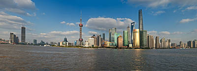 Photograph - Shanghai Skyline by U Schade