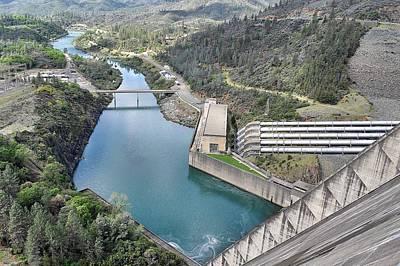 Photograph - Shasta Dam Spillway by Sagittarius Viking