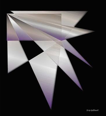 Digital Art - Shattered by Iris Gelbart