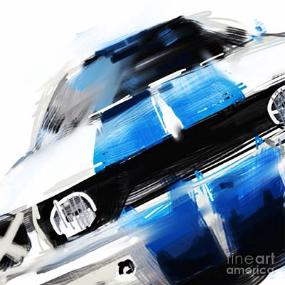 1965 Ford Mustang Painting - Shelby Mustang by Peter Fogg