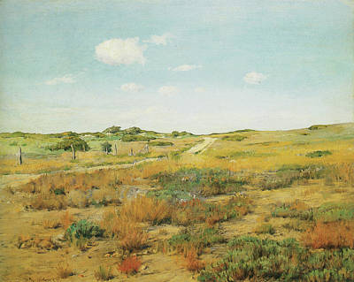 Photograph - Shinnecock Hills by William Merritt Chase