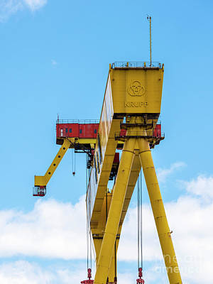 Photograph - Harland And Wolff by Jim Orr