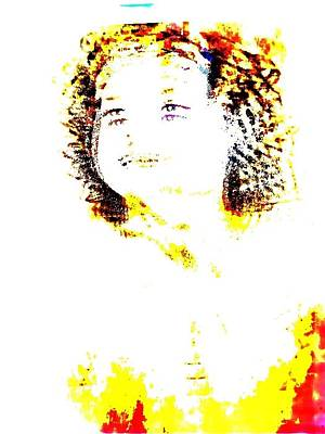Shirley Temple Digital Art - Shirley Temple by HollyWood Creation By linda zanini