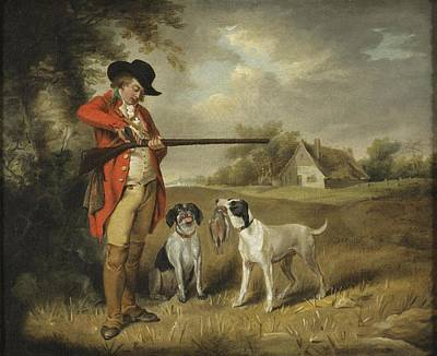 Autumn Painting - Shooting by George Morland