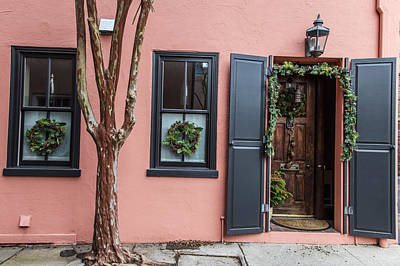 Photograph - 2 Shutters And A Door Charleston by John McGraw