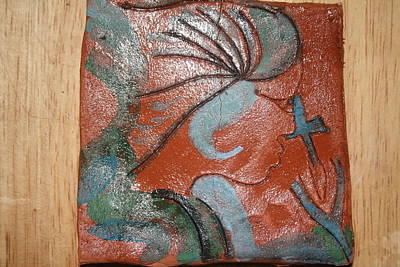 Ceramic Art - Sign - Tile by Gloria Ssali