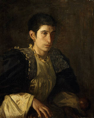 Painting - Signora Gomez D'arza by Thomas Eakins