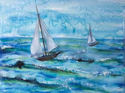 Painting - Silence by Katerina Kovatcheva