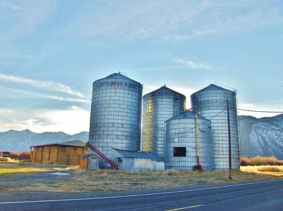 Photograph - Silos by Marilyn Diaz