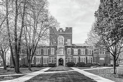 Photograph - Simpson College Hillman Hall Center by University Icons