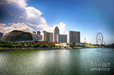Photograph - Singapore by Charuhas Images