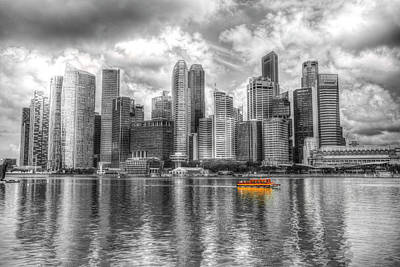 Photograph - Singapore Marina Bay Sands by David Pyatt