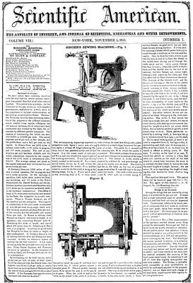 Photograph - Singer Sewing Machine by Granger
