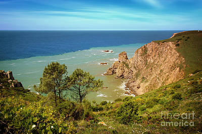 Roca Photograph - Sintra Coastline by Carlos Caetano