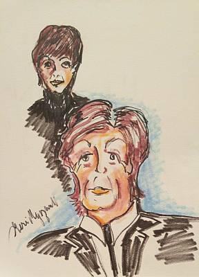Mccartney Drawing - Sir Paul Mccartney by Geraldine Myszenski