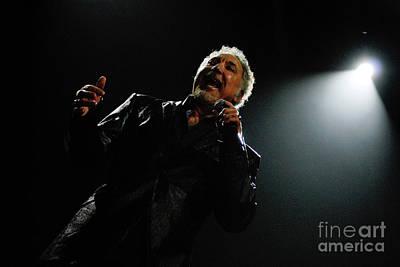 Photograph - Sir Tom Jones by Jenny Potter