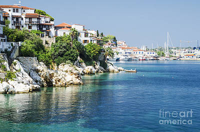 Postcard Photograph - Skiathos Island, Greece by Jelena Jovanovic