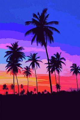 Painting - Skies Of California by Andrea Mazzocchetti