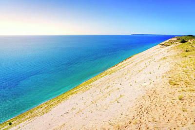 Photograph - Sleeping Bear Dunes National Lakeshore by Alexey Stiop