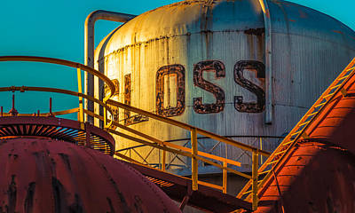 Photograph - Sloss Furnaces by Phillip Burrow