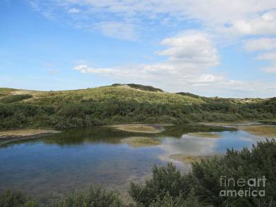 Photograph - Small Lake In The Noordhollandse Duinreservaat by Chani Demuijlder