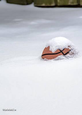 Sports Photograph - Snow Covered Michigan Barns by LeeAnn McLaneGoetz McLaneGoetzStudioLLCcom