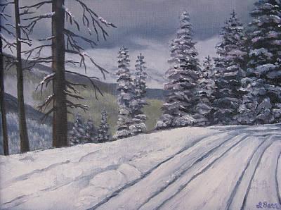 Snowbound Art Print by Lisa Barr